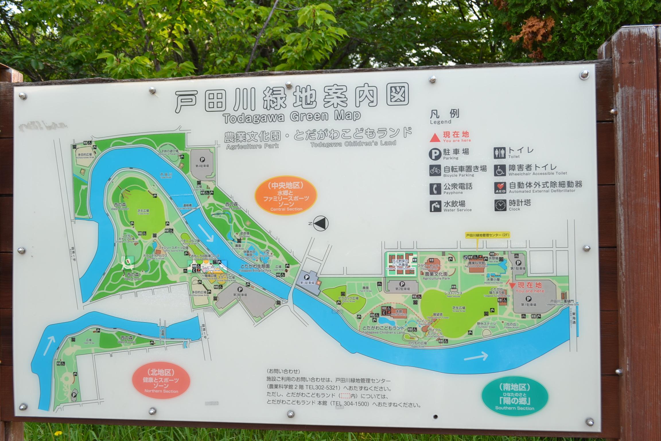 緑地 戸田 川